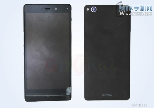 Gionee ELIFE E6 – a new 5-inch smartphone with a 13Mp camera