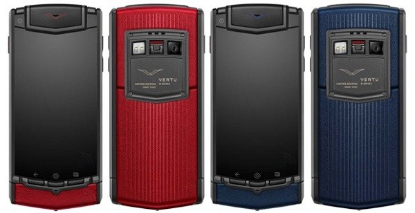 Ti Colours - a new collection of smartphones from Vertu