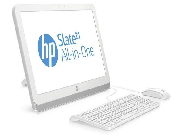 HP has announced a 21.5-inch Android-tablet Slate 21 AIO
