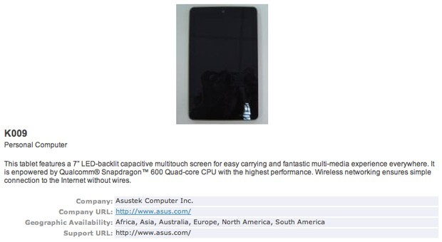 "The first ""live"" photos of the Nexus 7 second generation appeared on the Web"