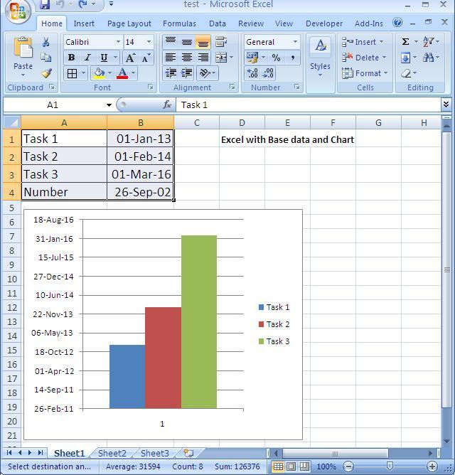 Excel to powerpoint link