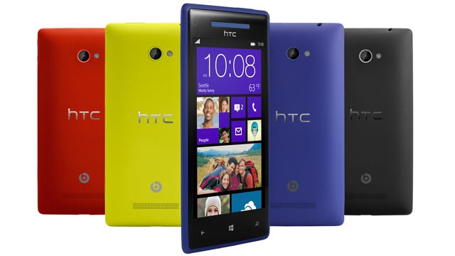 HTC Window 8 phone with GDR3 upgrade