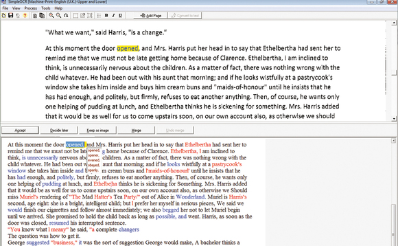 How to convert Images to Text using OCR