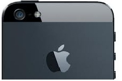 Apple iPhone 5 camera with 8MP resolution and front camera for video calling