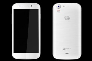 Micromax Canvas 4 White with 13MB rear camera looks awesome