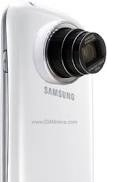 Samsung Galaxy S4 Zoom camera with 8MP resolution