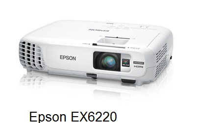 New Epson EX6220 Lightweight, Bright, Cost effective Projector