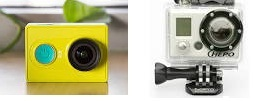 Xiaomi's under $25 Yi Camera Night Vision Edition Vs $129.99 Hero from GoPro