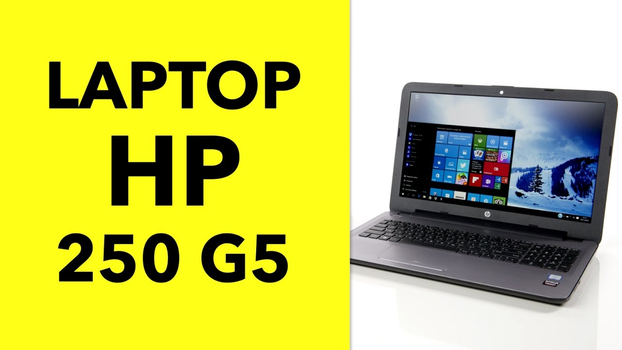 HP 250 G5 Laptop Key Specifications and Features