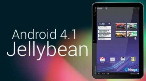 Jelly Bean update for Motorola ZOOM