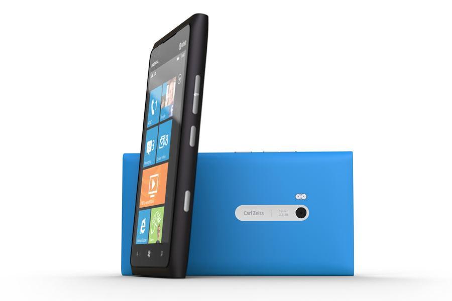 Lumia 900 smartphone