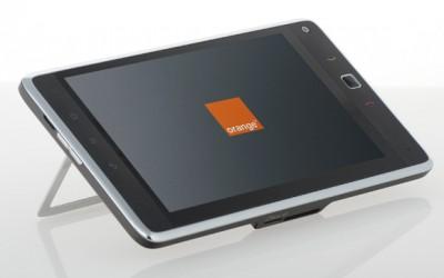 Orange Tahiti tablet