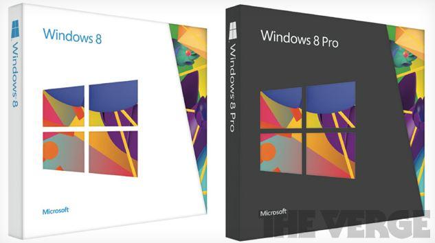Windows 8 Pro Box