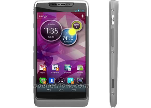 Motorola Atom Processor smartphone