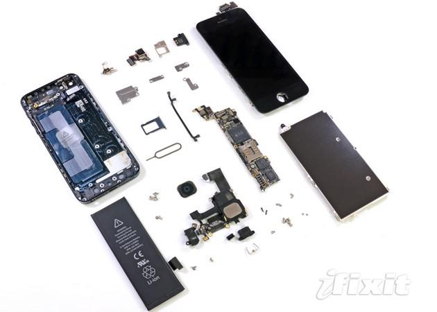 new iPhone 5 internal hardware