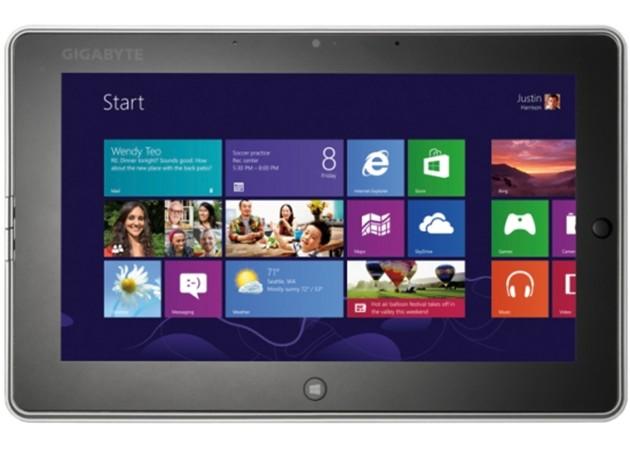 Gigabyte S1082 Slate PC tablet