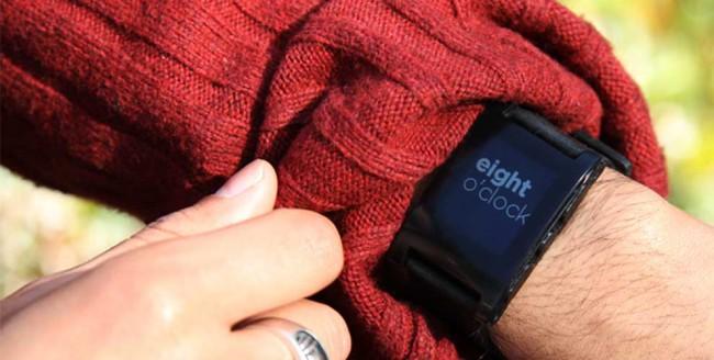 Pebble E-Ink watch