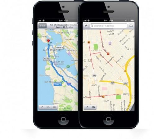 Google Maps for iOS 6