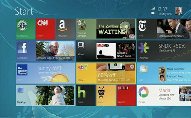 Windows 8 UI History