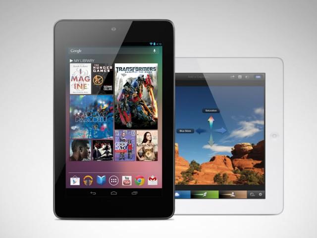 iPad or Nexus 7