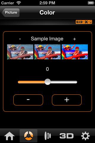 JVC projector remote control app